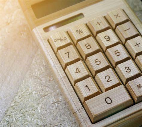 digital calculator  table stock image image  finance