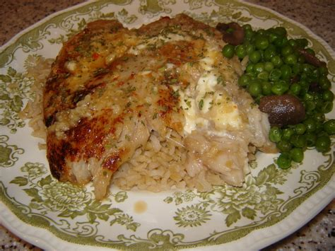 grouper marnier sauce grand recipe mushrooms peas rice brown