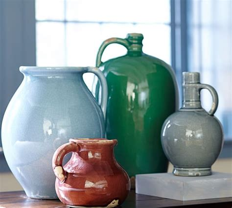 Colorful Vases by Mira Colorful Ceramic Vases Pottery Barn