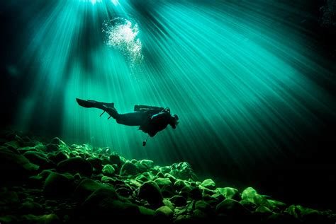 scuba divers underwater eiko jones photography stock