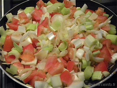 poireau cuisine fondue de poireaux aux tomates les légumes cuisinés