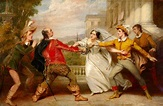 File:George Clint (1770-1854) - The Duel between Sir Toby ...