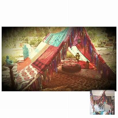 Hippie Tent Boho Hippy Meditation Bohemian Canopy