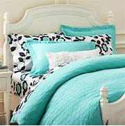 Tiffany Blue Bedding From Pottery Barn Teen New Bedroom Pinterest Bedroom Furniture For Girls Girls Bedroom Sets Nice Furniture And Get Free Updates By Email Or Facebook 15 Fantastic Bedrooms For Chic Teen Girls Architecture Design