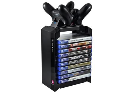 PS4 Game Tower