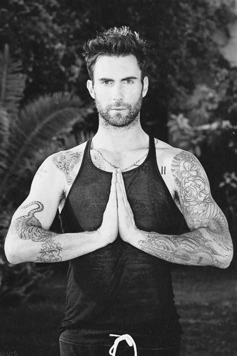 Namaste   Adam levine, Adam levine tattoos, Maroon 5