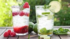 Virgin Mojito I Classic und Himbeere I Mojito Mocktail I Alkoholfrei amerikanisch kochen de