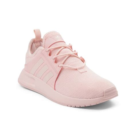 all light pink adidas youth adidas x plr athletic shoe pink 1436324