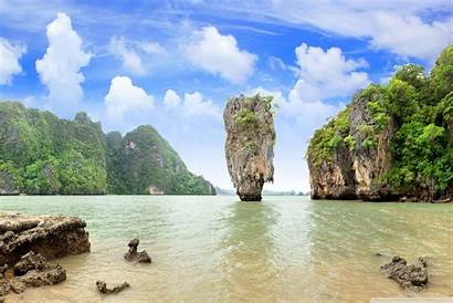 Thailand Microsoft Surface Smartphone Islands Background Wallpapers