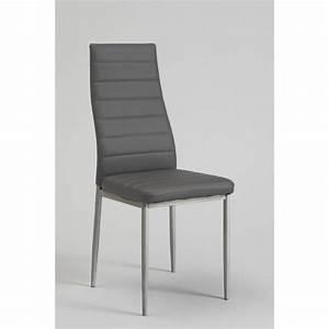 Chaise Grise Pas Cher : chaises grises pas cher maison design ~ Teatrodelosmanantiales.com Idées de Décoration