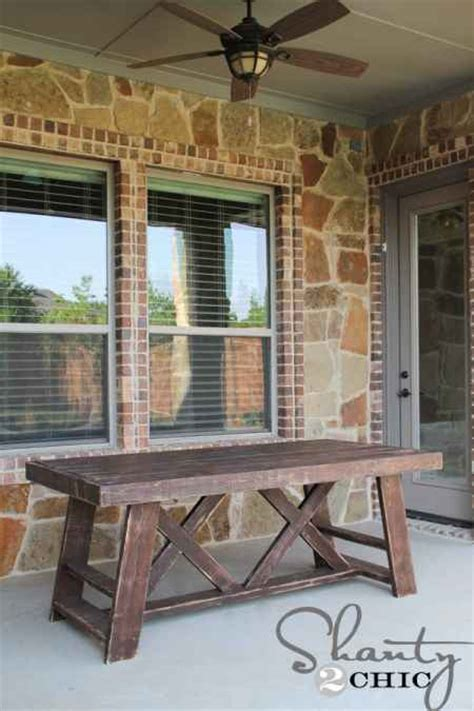 diy outdoor dining room tables