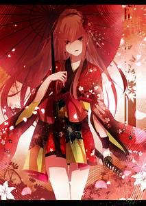 Yukata, Anime, Girls, Original, Characters, Wallpaper