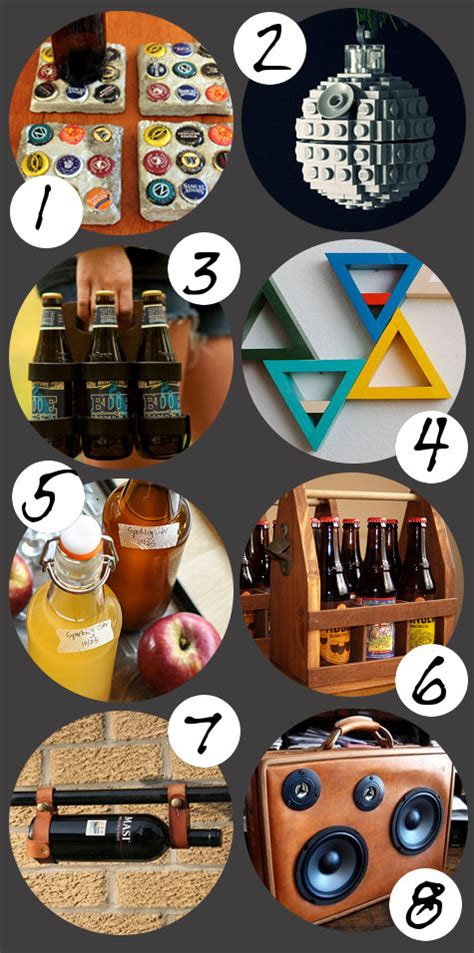 Diy Gift Ideas For Dudes That Aren't Duds  32 Handmade