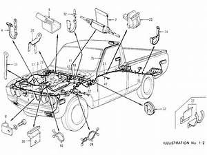 Datsun Pickup  620  Wiring  To Aug
