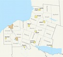 File:Map of Towns in Oswego County, New York.svg ...