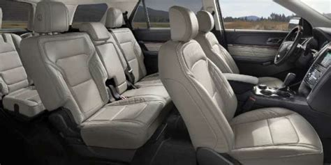 What Are the 2018 Ford Explorer Passenger and Cargo Space