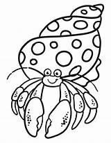 Crab Coloring Hermit Printable Enjoy Carle Eric Dibujos Cartoon Cangrejo Preschool Mandalas Colorear Fish Ninos Crabs Tsgos Ermitano Sonrisa Lectura sketch template