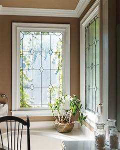 Oh, These, Leaded, Windows, In, The, Bathroom, So, Simple, But