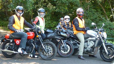 Things are a little more complicated for bikes than they are for cars, however. QRide RE Motorcycle Course