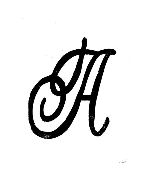 letter  monogram aydgea linocut prints
