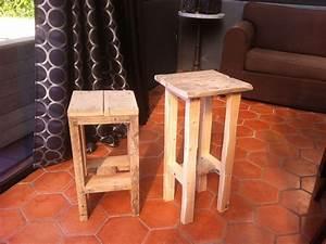 Table D39appoint De Chevet Bois Et Metal Bar