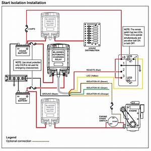 Blue Sea Add A Battery Wiring Diagram