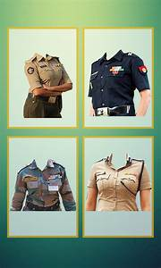 Edit Profile App Design Indian Army Photo Uniform Editor Army Suit Maker