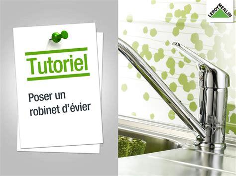 comment changer un robinet mitigeur de cuisine evier et robinet de cuisine leroy merlin