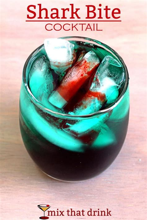 Ideas For Halloween Food Names by Shark Bite Drink Blood In The Water Mix That Drink