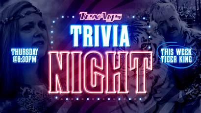 Trivia Texags Tiger Night King Claim Tonight