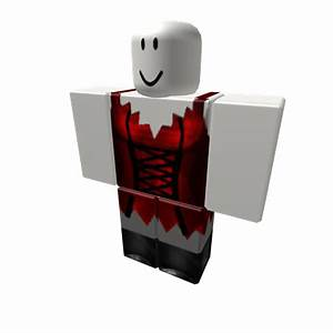 Red Female Vampire Costume Dress - Roblox