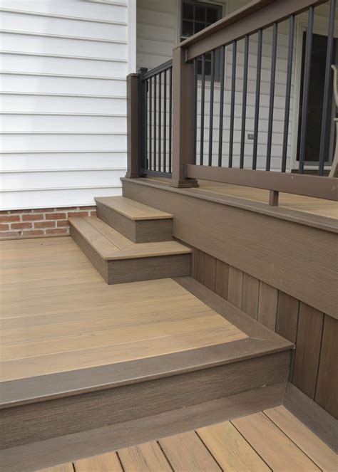 custom timbertech deckporch york pa  sq ft