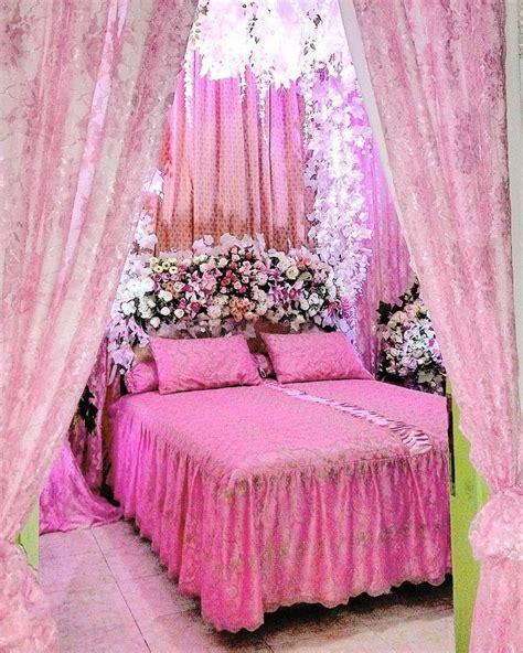dekorasi kamar pengantin sederhana  romantis