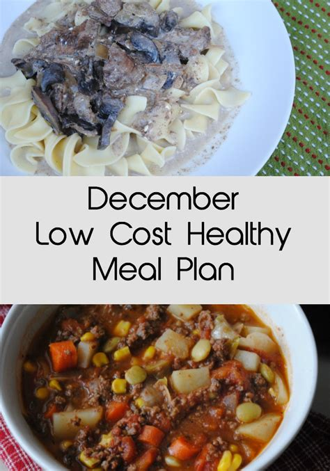 cuisine low cost caluire december low cost healthy meal plan eat well spend smart