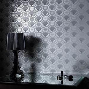 Ennis Charcoal Wallpaper