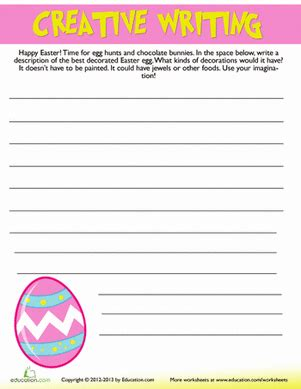 easter writing prompts education com