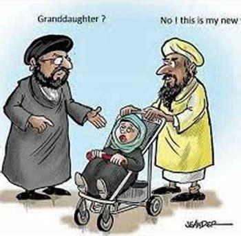 iran politics club prophet muhammad aisha  child