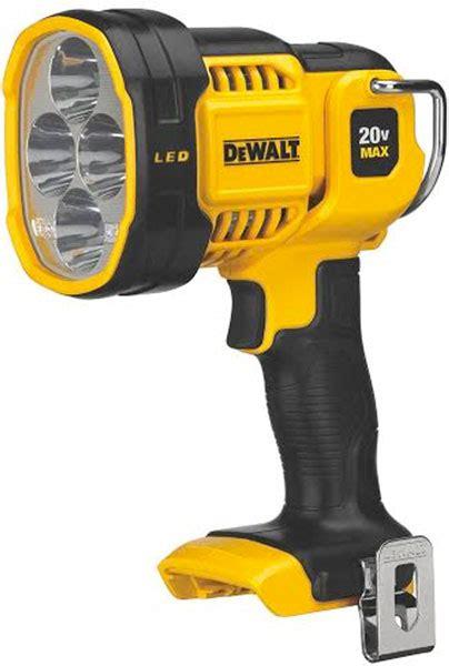 high powered dewalt dcl  max led spotlight