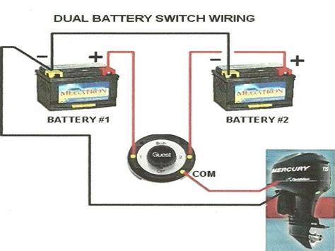 Boat Battery Isolator Wiring by Boat Dual Battery Wiring Diagram For Yanmar Sel Wiring