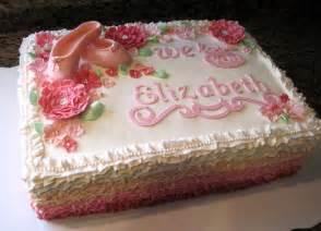 fresh wedding sheet cake designs with ruffle ballet sheet cake onweddingideas - Wedding Sheet Cake Ideas