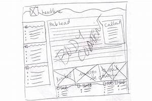 Web Design  Website Wireframe