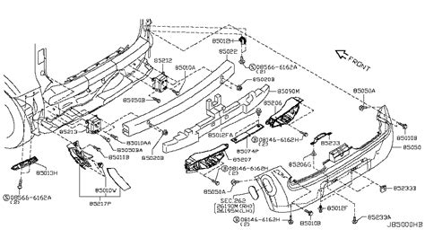 Nissan Cube Engine Diagram by 85043 1fa0a Genuine Nissan Parts