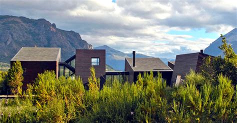 md house in patagonia argentina uses abstract prisms to create a relationship with the dramatic