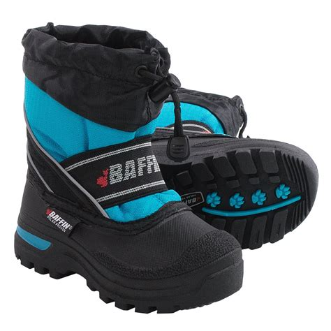 baffin snobear snow boots waterproof insulated