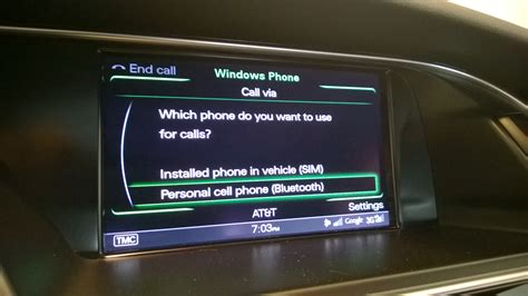 iphone not calls 2015 audi a6 mmi dual sim reciving calls into the car