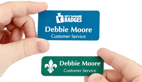 Print Your Own Badge Buddies Getting Started Laserlogo Name Tags Name Badges At Mynamebadges