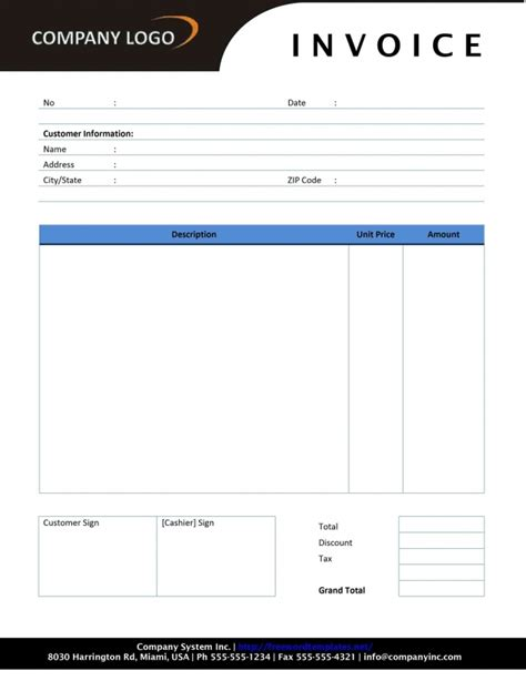 libreoffice invoice template dascoopinfo