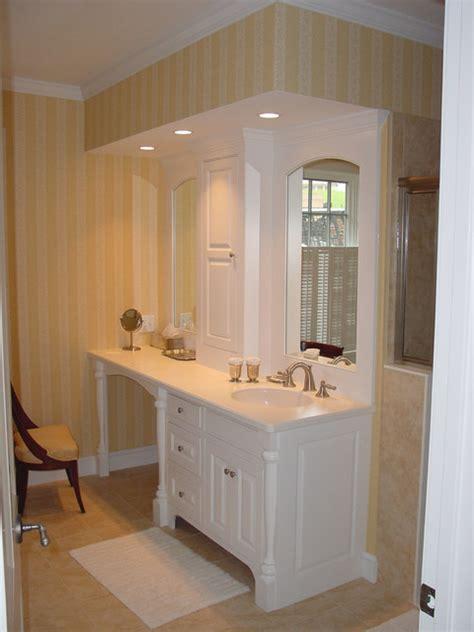 bathroom vanity with sink and makeup area bathroom elegant best 25 makeup vanities ideas on