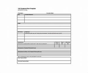 Treatment plan template beneficialholdingsinfo for Asi construction documents