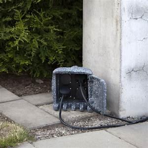 Gartensteckdose Ohne Zuleitung : gartensteckdose plugge steinoptik f r 4 stecker 2m zuleitung grau lichterketten experte ~ A.2002-acura-tl-radio.info Haus und Dekorationen
